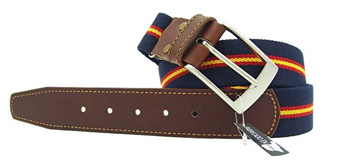 Cinturones con la bandera de España