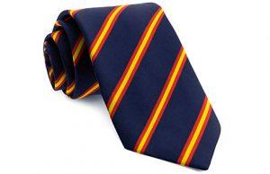Corbata bandera de España