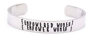 Pulsera feminista EMPOWERED WOMEN EMPOWER WOMEN
